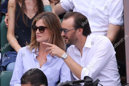 Editorial photo of French Open, Celebrities, Roland Garros, Paris, France - 10 Jun 2018