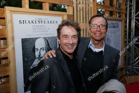 Stock Photo of Martin Short and Richard Lovett