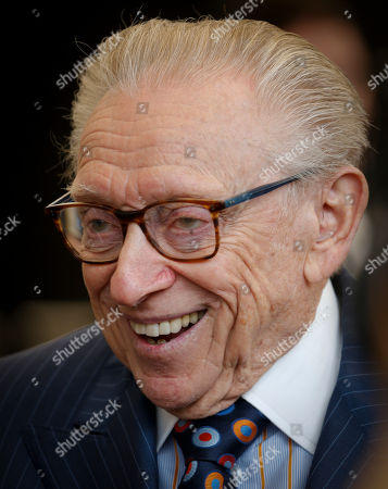 3 World Trade Opening. Silverstein Properties Chairman Larry Silverstein arrives for a ribbon-cutting ceremony to officially open 3 World Trade Center, in New York