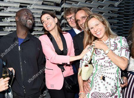 David Adjaye, Yana Peel with guests