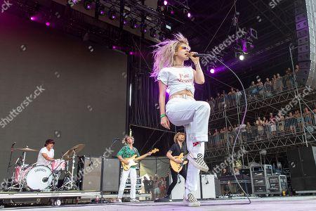 Paramore - Zac Farro, Joey Howard, Taylor York and Hayley Williams