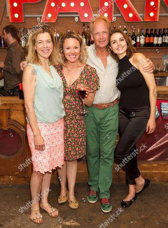 Stock Photo of Janie Dee, Charlie Brooks, Patrick Ryecart & Genevieve Gaunt