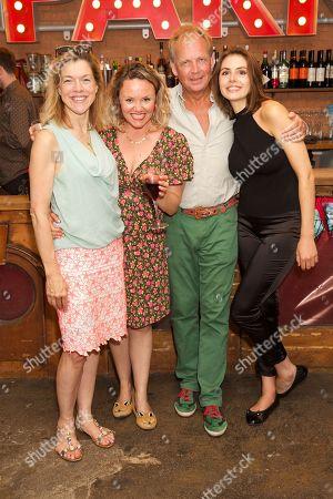 Stock Image of Janie Dee, Charlie Brooks, Patrick Ryecart & Genevieve Gaunt