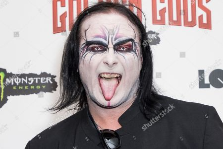 Stock Picture of Dani Filth of Cradle of Filth