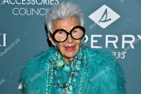 Iris Apfel attends the 22nd annual ACE Awards at Cipriani 42nd Street, in New York