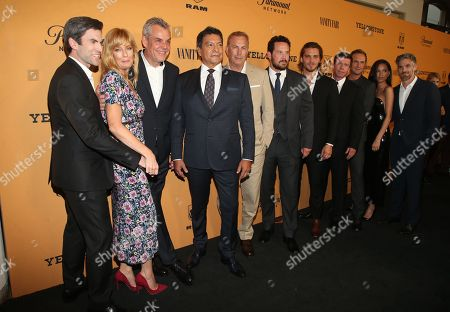 Kelly Reilly, Wes Bentley, Luke Grimes, Kevin Costner, Taylor Sheridan, Kelsey Chow, Dave Annable