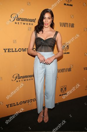 Editorial picture of 'Yellowstone' TV show premiere, Arrivals, Los Angeles, USA - 11 Jun 2018