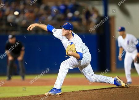 Editorial image of NCAA Auburn Florida Baseball, Gainesville, USA - 11 Jun 2018