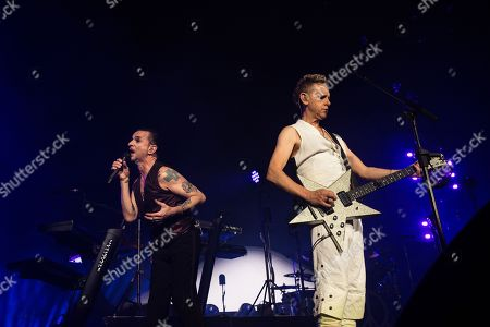 Editorial photo of Depeche Mode in concert at Air Canada Centre, Toronto, Canada - 11 Jun 2018
