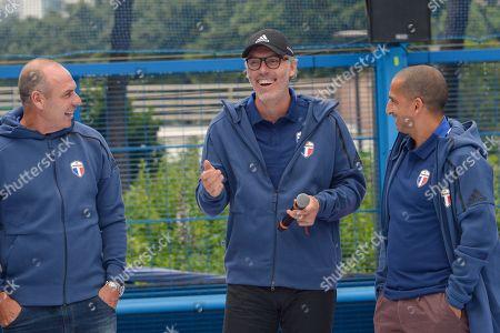 Alain Boghossian, Laurent Blanc, Sabri Lamouchi
