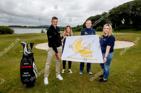 'Prem Group Over the Moon to Support Children's Charity'. Simon Thornton, Tournament Professional at Tulfarris Golf Club, Clara Miller, PREM Group, Jim Murphy, CEO PREM Group and Aine Clarke, PREM Group pictured at the 13th annual PREM Group Charity Golf Classic in aid of children's charity, 'Beyond the Moon' which helps to send very sick children and their families on much needed holidays.