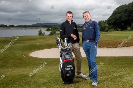 'Prem Group Over the Moon to Support Children's Charity'.. Simon Thornton, Tournament Professional at Tulfarris Golf Club and Jim Murphy, CEO PREM Group pictured at the 13th annual PREM Group Charity Golf Classic in aid of children's charity, 'Beyond the Moon' which helps to send very sick children and their families on much needed holidays.