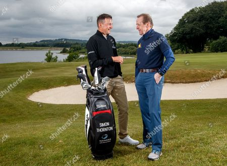 'Prem Group Over the Moon to Support Children's Charity'. Simon Thornton, Tournament Professional at Tulfarris Golf Club and Jim Murphy, CEO PREM Group pictured at the 13th annual PREM Group Charity Golf Classic in aid of children's charity, 'Beyond the Moon' which helps to send very sick children and their families on much needed holidays.