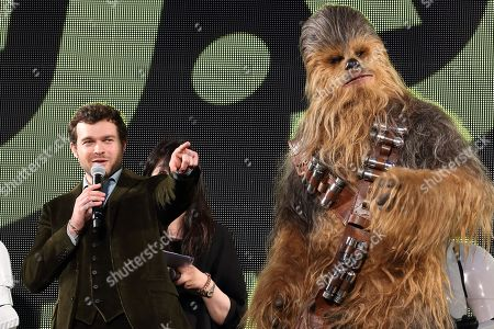 Editorial image of 'Solo: A Star Wars Story' film premiere, Tokyo, Japan - 12 Jun 2018