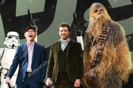 Editorial photo of 'Solo: A Star Wars Story' film premiere, Tokyo, Japan - 12 Jun 2018