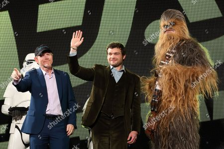 Editorial picture of 'Solo: A Star Wars Story' film premiere, Tokyo, Japan - 12 Jun 2018