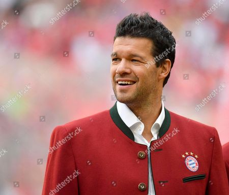 Former Michael Ballack FC Bayern Munich, Portrait, Allianz Arena, Munich, Bavaria, Germany