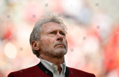 Former Paul Breitner FC Bayern Munich, Portrait, Allianz Arena, Munich, Bavaria, Germany