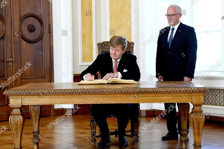 Editorial picture of King Willem-Alexander visit to Estonia - 12 Jun 2018