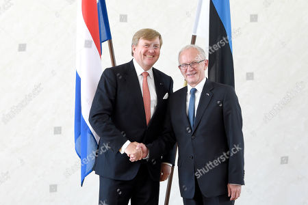 Editorial image of King Willem-Alexander visit to Estonia - 12 Jun 2018