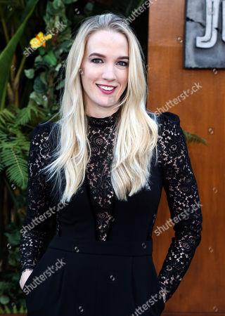 Editorial photo of 'Jurassic World: Fallen Kingdom' film premiere, Arrivals, Los Angeles, USA - 12 Jun 2018