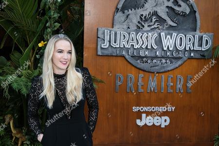 Editorial picture of 'Jurassic World: Fallen Kingdom' film premiere, Arrivals, Los Angeles, USA - 12 Jun 2018