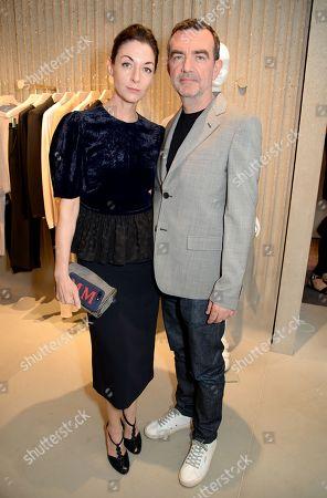 Stock Image of Mary McCartney and Simon Aboud