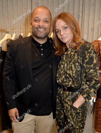 Jay Brown and Stella McCartney