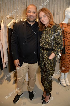 Stock Image of Jay Brown and Stella McCartney