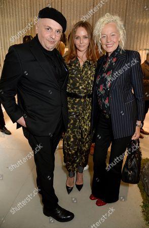 Sascha Lilic, Stella McCartney and Ellen Von Unwerth