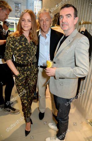Stella McCartney, Ian Livingstone and Simon Aboud