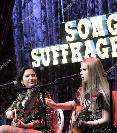Editorial picture of Song Suffragettes 4th Anniversary Party, Nashville, USA - 12 Jun 2018