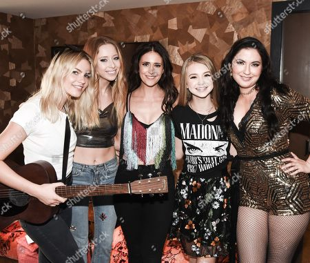 Alys Ffion, Kalie Shore, Kelleigh Bannen Tegan Marie, Candi Carpenter