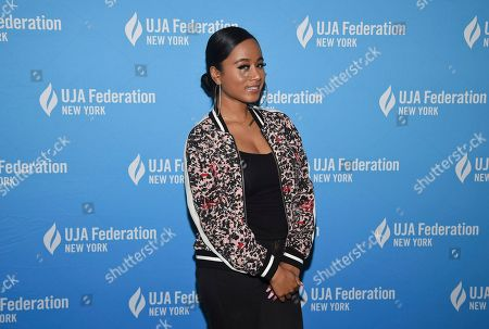 Singer Jazzy Amra attends the UJA-Federation of New York's Music Visionary of the Year award luncheon at The Pierre, in New York