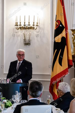 Editorial image of Dinner in honor of former Secretary of State Henry Kissinger in Berlin, Germany - 12 Jun 2018
