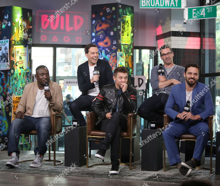 Hannibal Buress, Ed Helms, Jeremy Renner, Jon Hamm and Jake Johnson