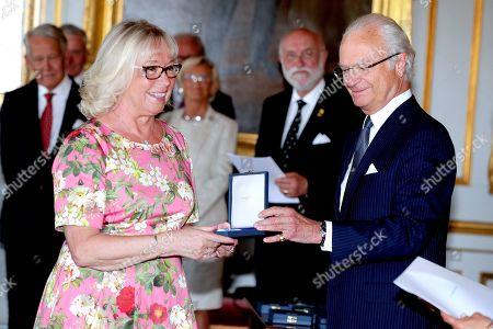 Chris Heister, King Carl Gustaf
