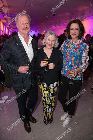 Owen Teale, Sylvestra Le Touzel (Miss Mackay) and Haydn Gwynne