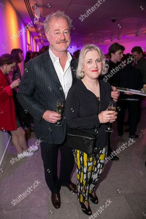 Owen Teale and Sylvestra Le Touzel (Miss Mackay)