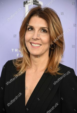 Stock Photo of Cosmopolitan editor-in-chief Michele Promaulayko attends the Fragrance Foundation Awards at Alice Tully Hall, in New York