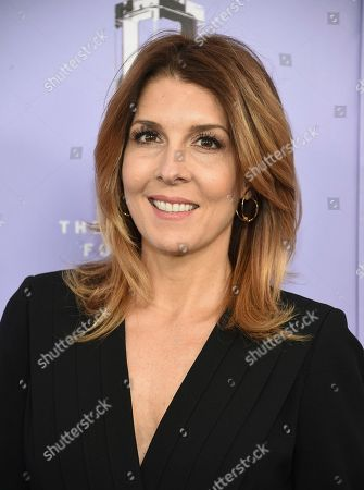 Stock Picture of Cosmopolitan editor-in-chief Michele Promaulayko attends the Fragrance Foundation Awards at Alice Tully Hall, in New York