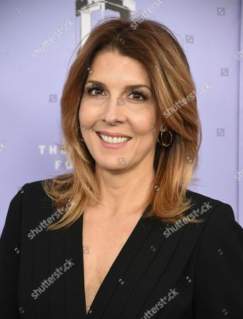 Cosmopolitan editor-in-chief Michele Promaulayko attends the Fragrance Foundation Awards at Alice Tully Hall, in New York