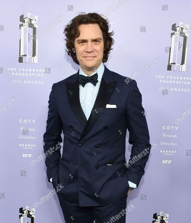 Esquire editor-in-chief Jay Fielden attends the Fragrance Foundation Awards at Alice Tully Hall, in New York