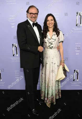 Nicolas Mirzayantz, Princess Alexandra of Greece. Group President of Fragrances, IFF Nicolas Mirzayantz and wife Princess Alexandra of Greece attend the Fragrance Foundation Awards at Alice Tully Hall, in New York