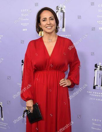 Marie Claire editor-in-chief Anne Fulenwider attends the Fragrance Foundation Awards at Alice Tully Hall, in New York