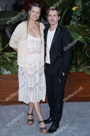 Stock Photo of Marianna Palka and Xavier Samuel