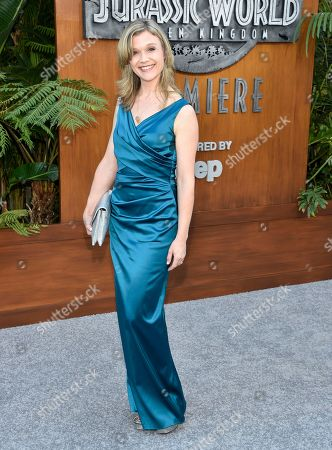 "Stock Photo of Ariana Richards arrives at the Los Angeles premiere of ""Jurassic World: Fallen Kingdom"" at the Walt Disney Concert Hall on"