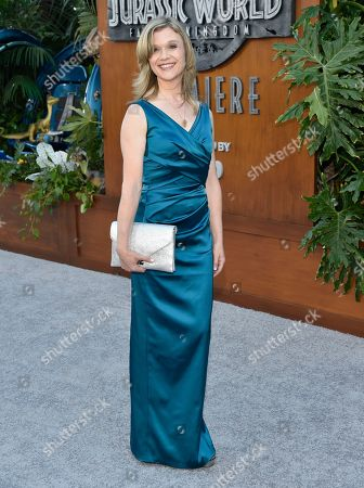 "Ariana Richards arrives at the Los Angeles premiere of ""Jurassic World: Fallen Kingdom"" at the Walt Disney Concert Hall on"