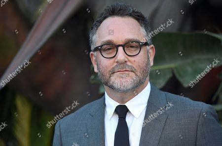 "Colin Trevorrow arrives at the Los Angeles premiere of ""Jurassic World: Fallen Kingdom"" at the Walt Disney Concert Hall on"