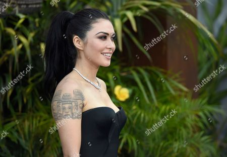 "Daniella Pineda arrives at the Los Angeles premiere of ""Jurassic World: Fallen Kingdom"" at the Walt Disney Concert Hall on"